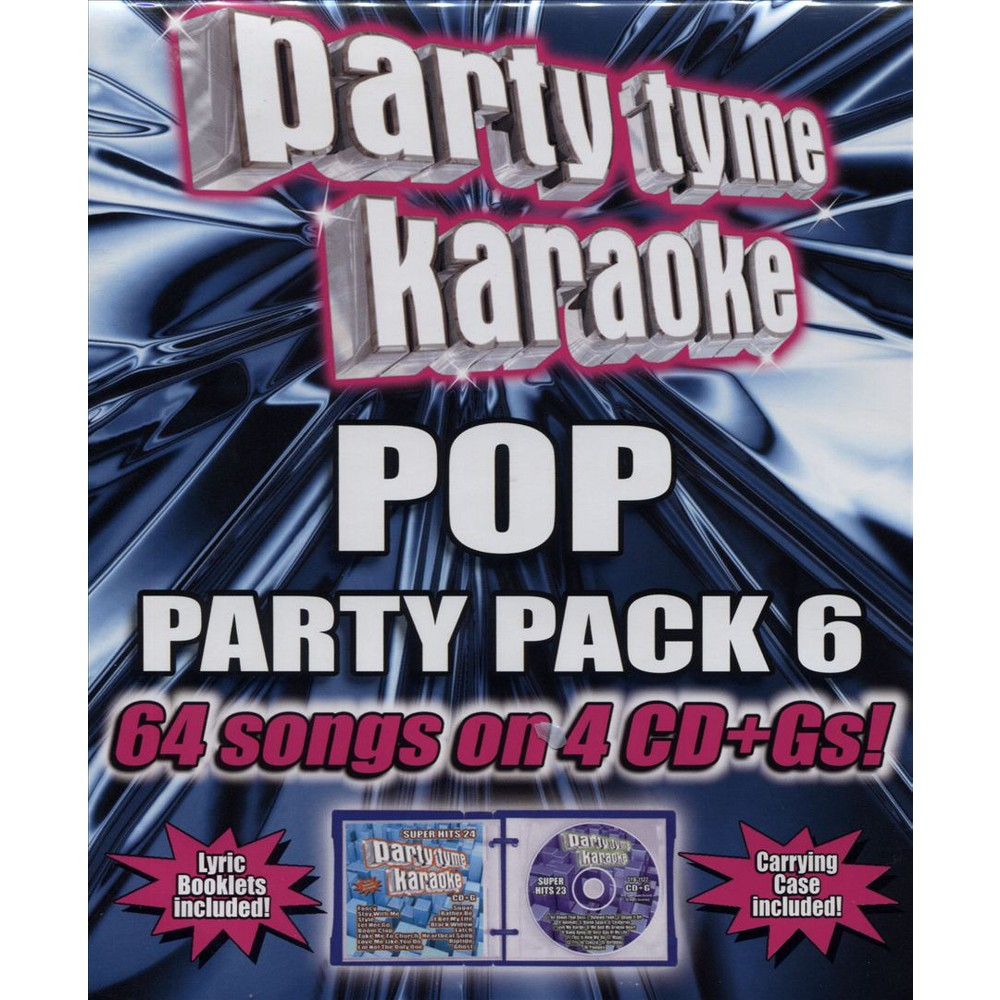 Party Tyme Karaoke: Pop Party Pack 6 / Various