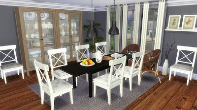 The Sims 4 By Kasia Jadalnia Ikea Shops Real Stores Ikea