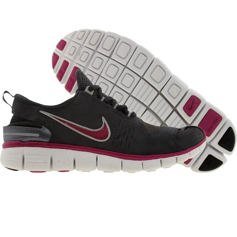 super popular 07b2e 061e9 Nike Womens Free 5.0 II (anthracite   metallic silver   pave pink   white)  314019-001 -  99.99