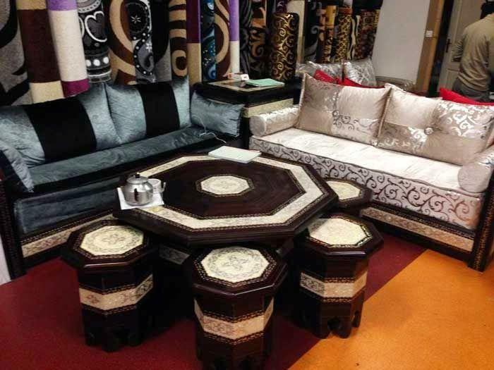Splendide salon marocain 2014-2015 in 2019 | Living room ...