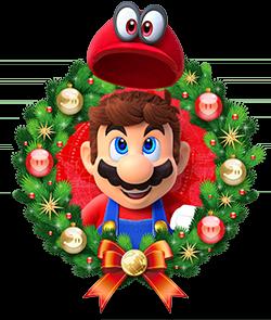 Wreath Mario Png 250 295 Pixels Super Mario Mario Super Mario Bros