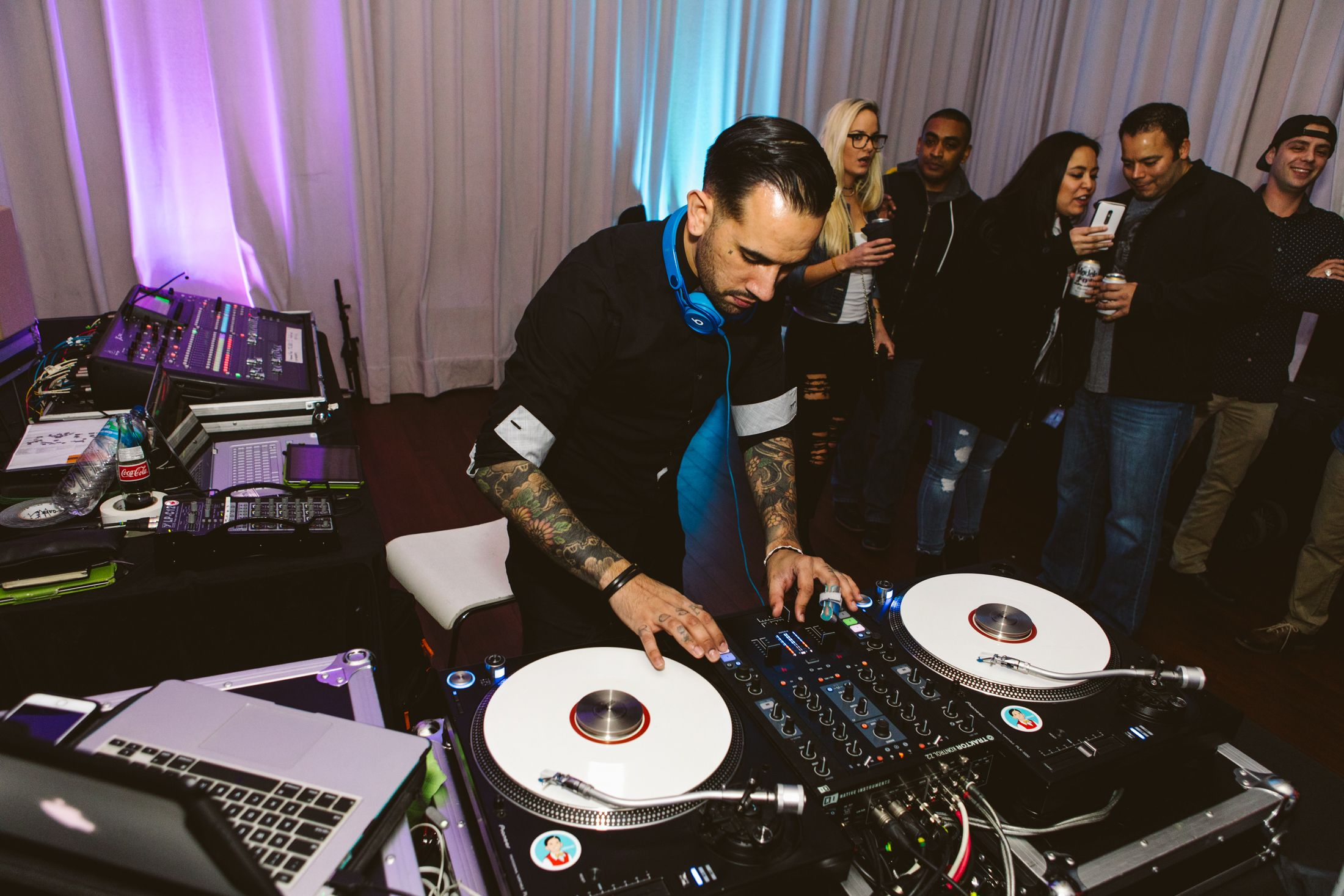 DJ Ulovei at First Thursday at The South Congress Hotel ...