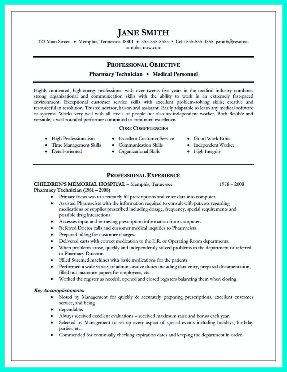awesome what objectives to mention in certified pharmacy technician resume check more at http