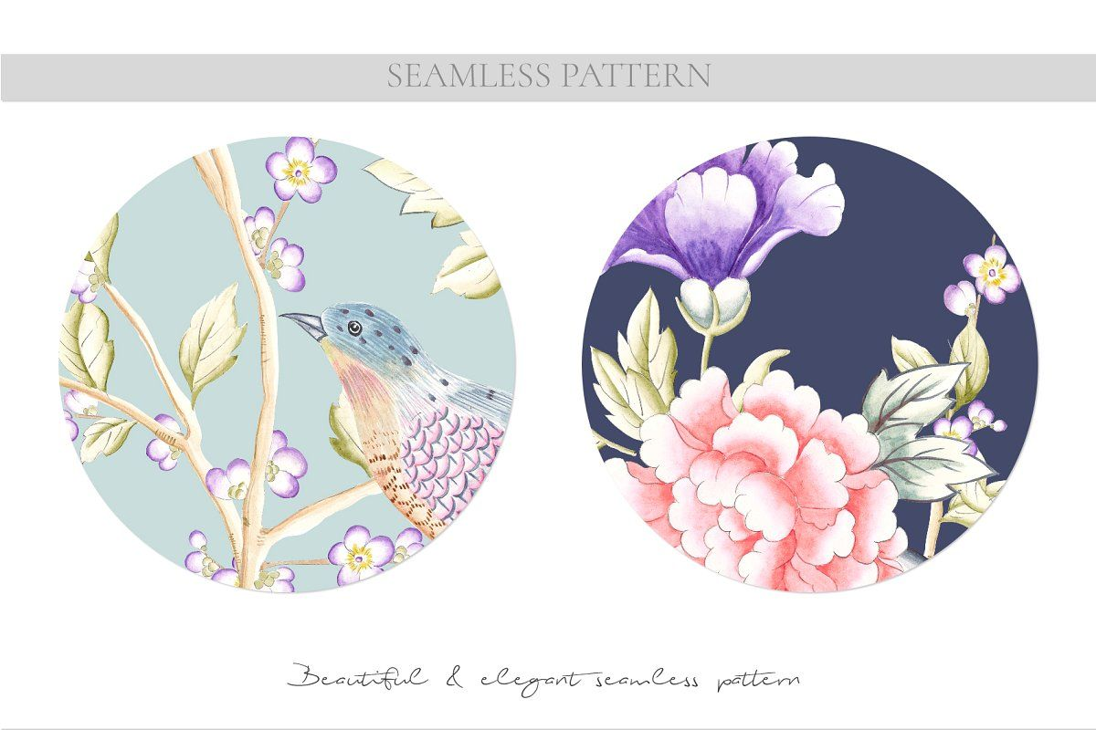 Orient - A Chinoiserie story! ,