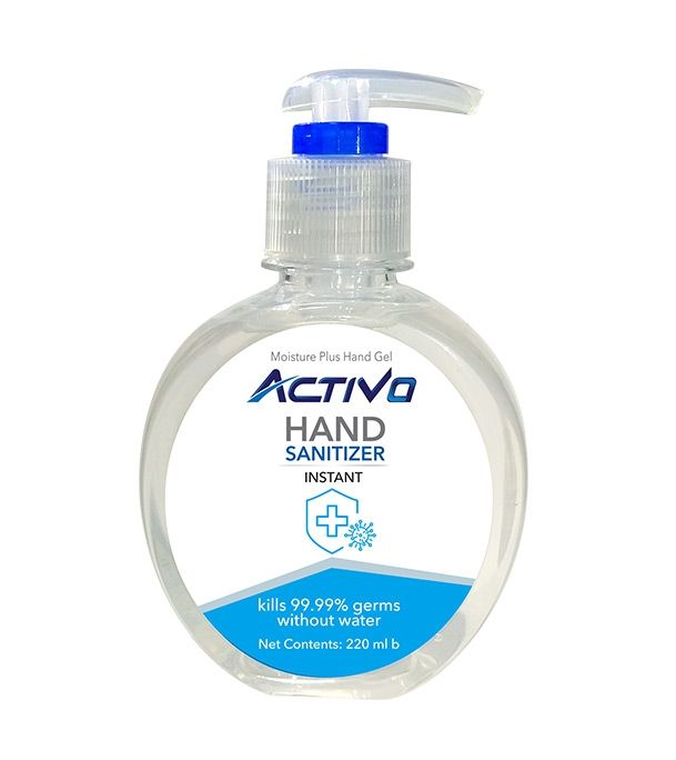 Activo Hand Sanitizer 220 Ml