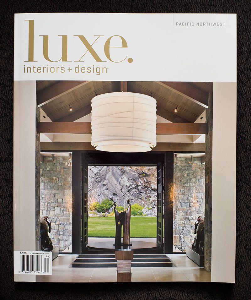 The Fall 2010 Issue Of Luxe Interiors Design Magazine Interior