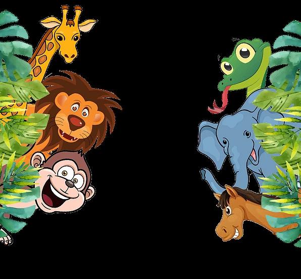 Jungle Animals Free Png Image Free Digital Image Download Upcrafts Design Animal Pictures For Kids Jungle Animals Pictures Animal Clipart