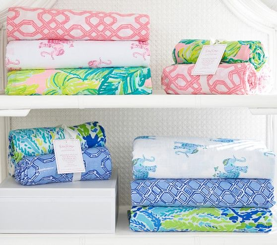 Lilly Pulitzer Organic Muslin Swaddle Set Oh Baby