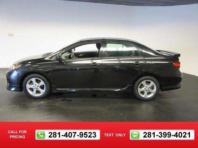 2013 Toyota Corolla S 64k miles $13,991 64481 miles 281-407-9523  #Toyota #Corolla #used #cars #MikeCalvertToyota #Houston #TX #tapcars