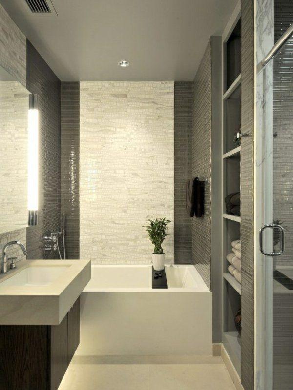 Kleines Badezimmer Badewanne #16: Kleines Bad Fliesen Badewanne Badgestaltung