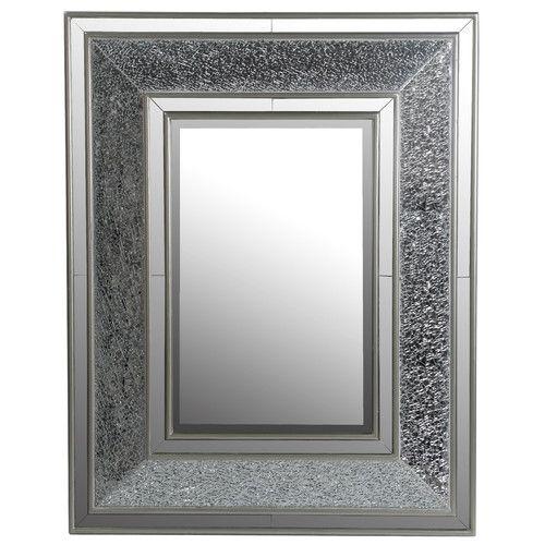 Privilege Beveled Rectangular Mosaic Mirror Mirror Wall Mirror Design Wall Framed Mirror Wall