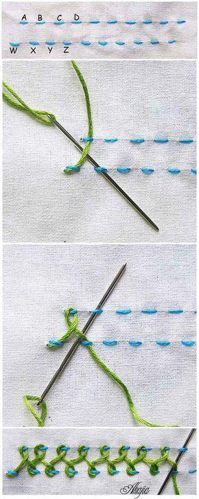 Brezilya Nakışı Teknikleri 39 #embroiderypatternsbeginner