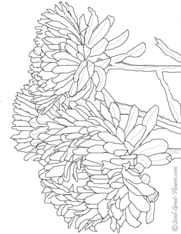 Mom Coloring Pages Flowers
