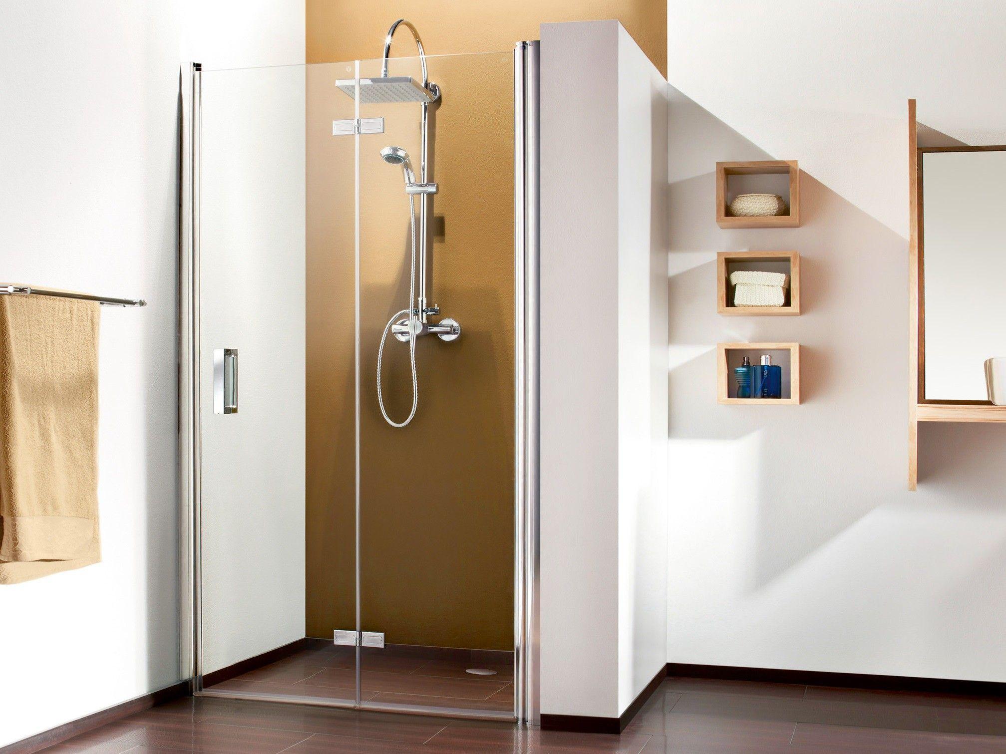 Drehfalttur Nische 100 X 220 Cm Bad Design Duschnische Und