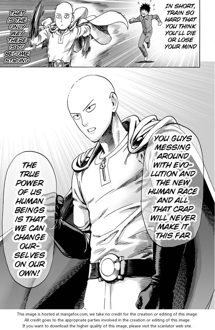 Onepunch-Man 11: 11th Punch [The Key To His Power] at MangaFox.me