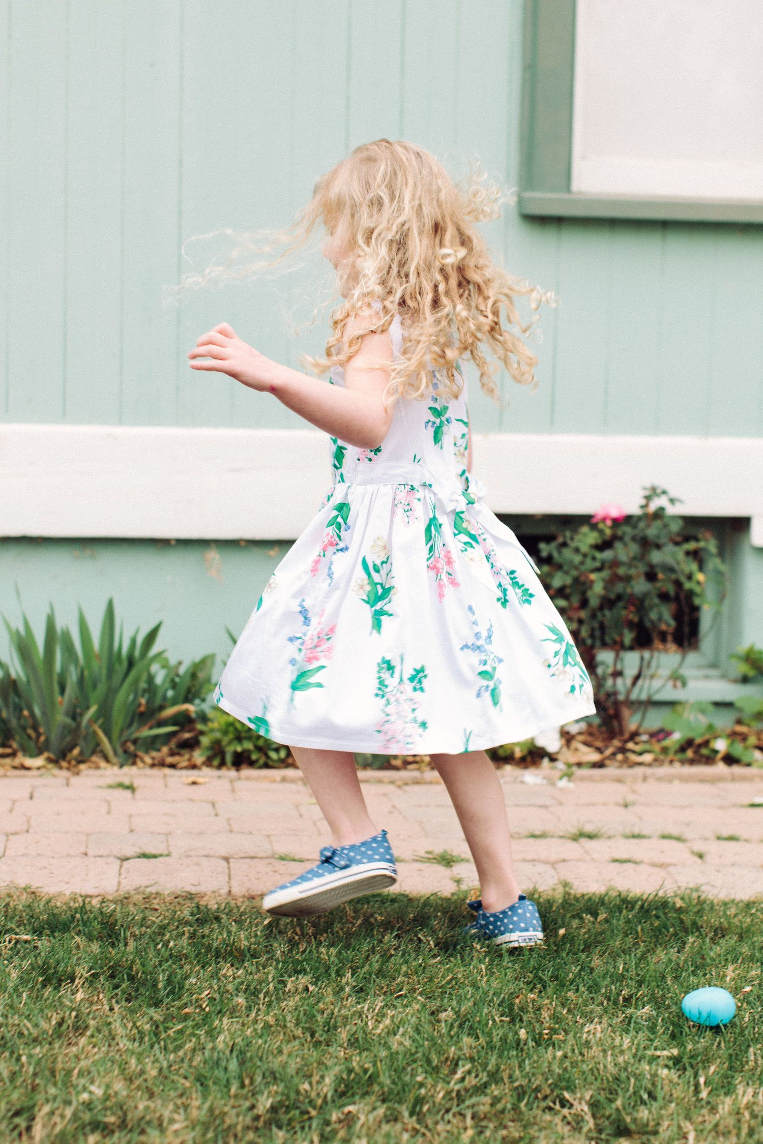 sweet, white lilac printed dress with chambray shoes / a cute outfit for Easter and spring all from @carters #lovecarters #sponsored