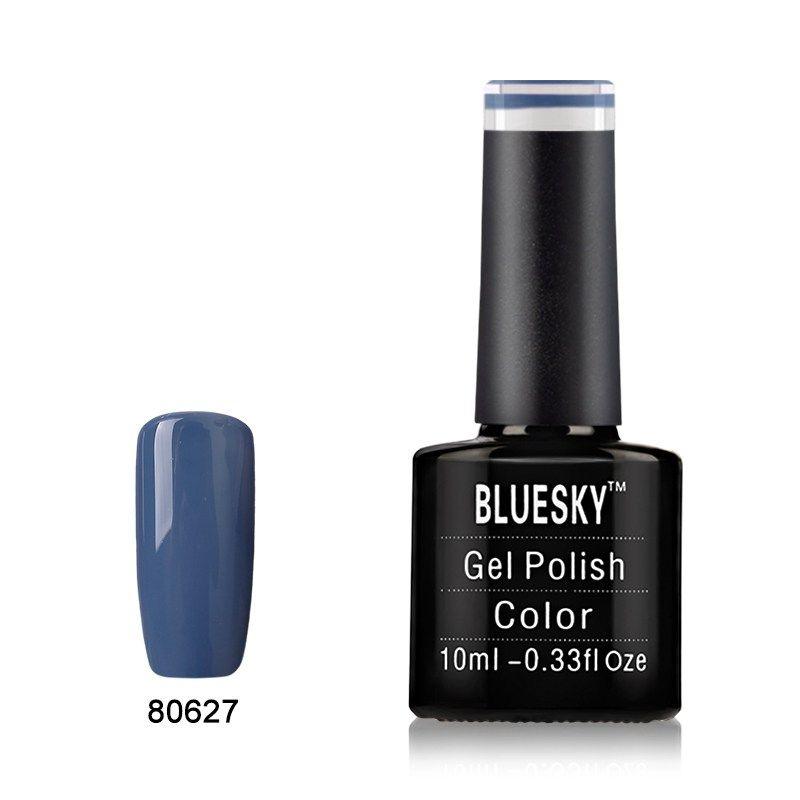 BLUESKY GEL POLISH RED BURGUNDY DARK LAVA 80537 NAIL LED