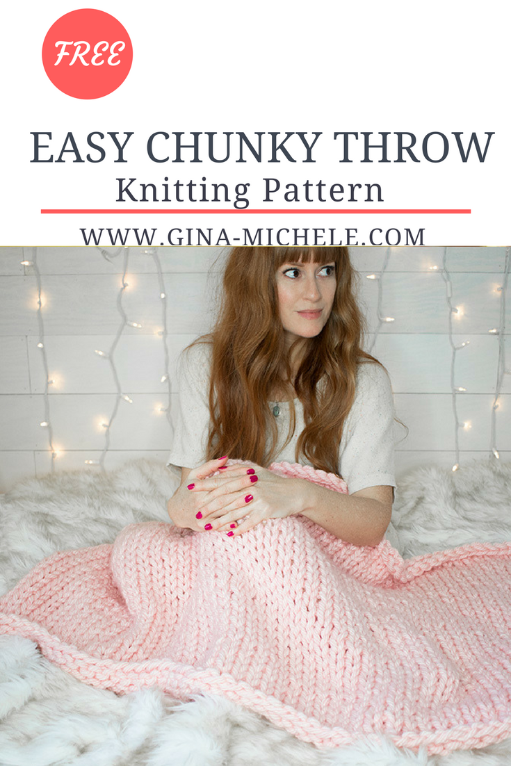 Free knitting pattern for this easy chunky throw beginner free knitting pattern for this easy chunky throw beginner friendly bankloansurffo Choice Image
