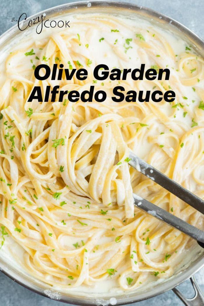 Olive Garden's Alfredo Sauce