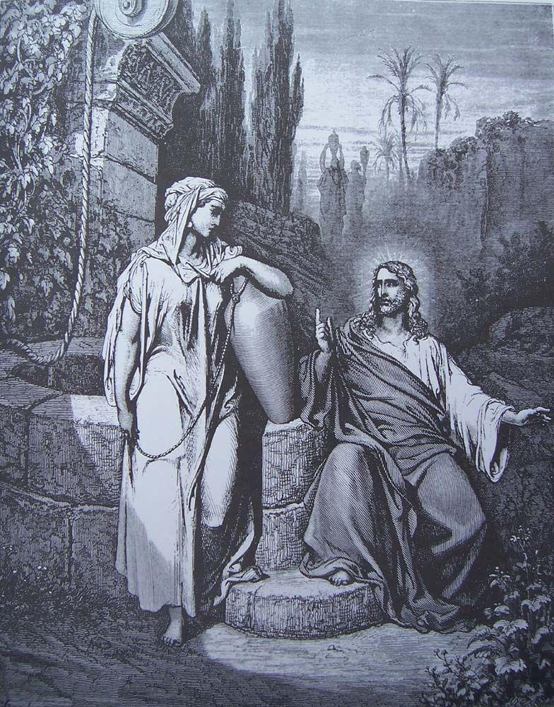 20. JESUS AND THE SAMARITAN WOMAN
