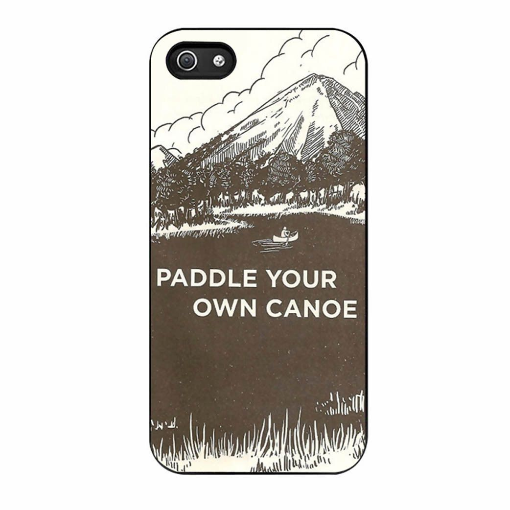 Paddle Your Own Canoe Vintage Iphone 5/5s Case