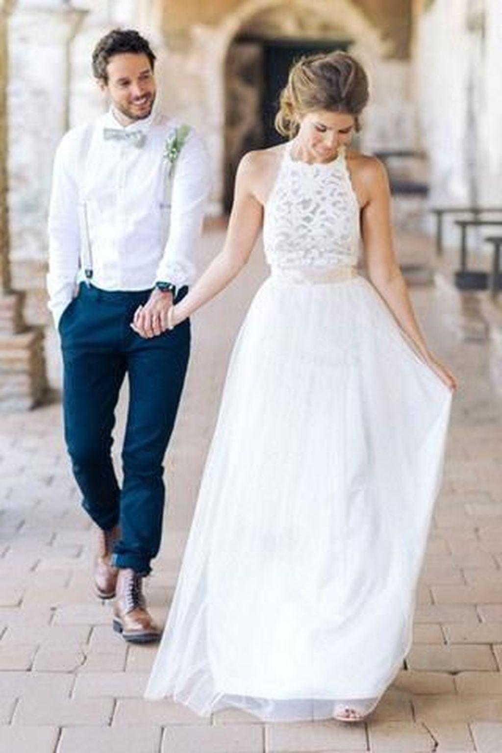 Best Princess Wedding Dress Ideas For Beach Theme 23 | Pinterest ...