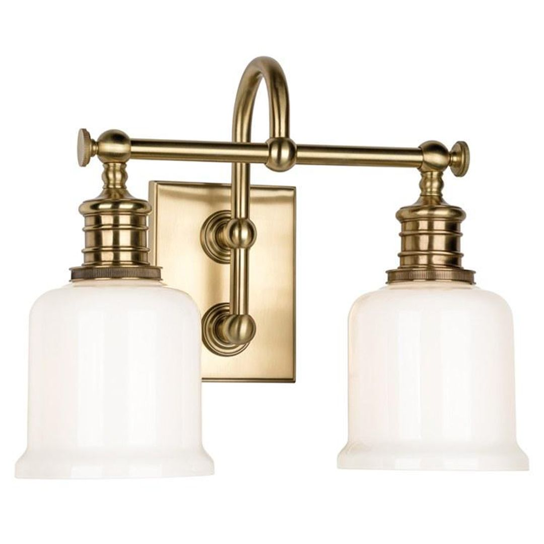 Keswick Two Light Bathroom Vanity