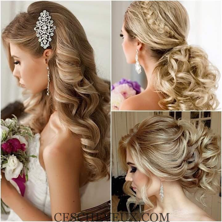 26+ Coiffure mariage chic et glamour idees en 2021