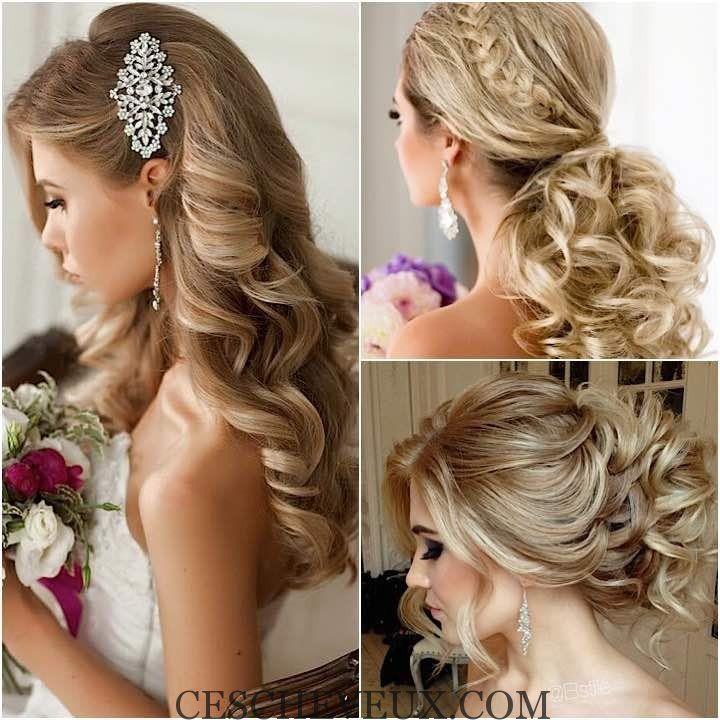 Wedding Hairstyles2 Collage 10192015 Km 720x720 Jpg 720 720 Jolie Coiffure Coiffure Mariage Coiffure