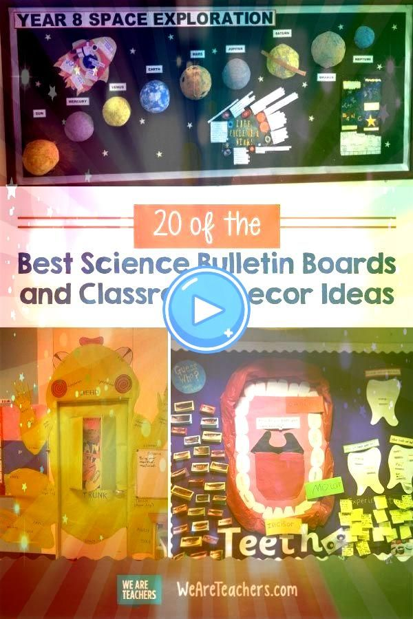 the Best Science Bulletin Boards and Classroom Decor Ideas Inspire students with fun and creative science bulletin boards and classroom decor from periodic tables to the...