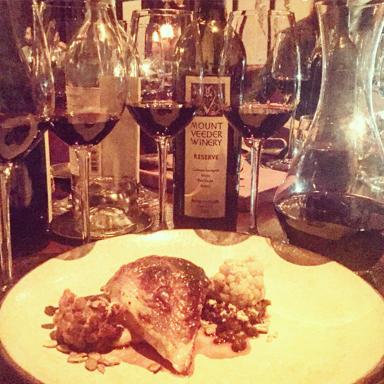Mount Veeder And Nomad S Legendary Foie Gras Chicken Day Saved Wine Images Alcoholic Drinks Wine