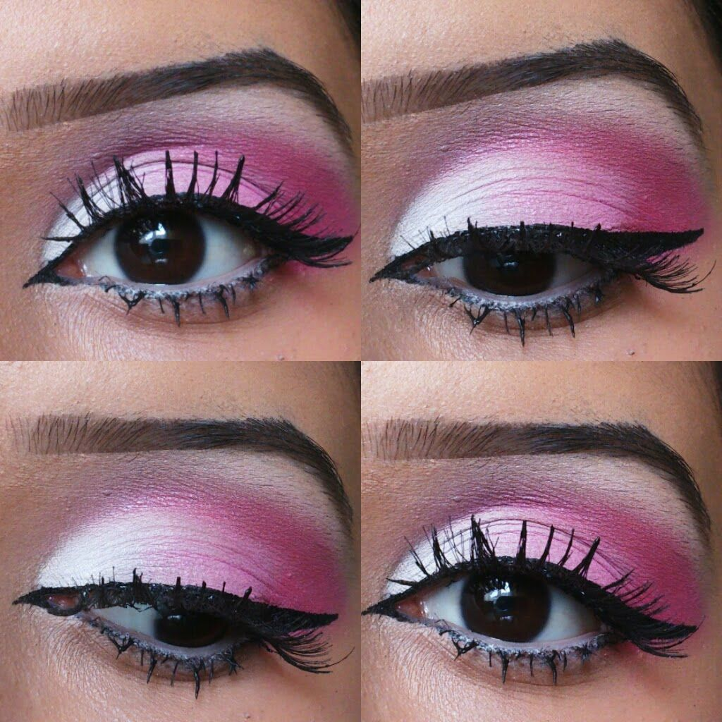 Pin By Britnee Evans On Makeup Ideas Beauty Pink Makeup Eye Makeup Tutorial Pink Makeup Tutorial