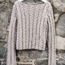 b1a176d2 Sandnes trøje, 1513/4 | Strik og opskrifter | Strikkeopskrift dame ...