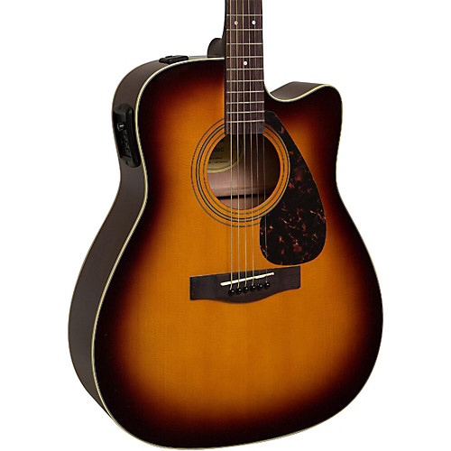 Yamaha Fx335c Dreadnought Acoustic Electric Guitar Yamaha Guitar Acoustic Electric Guitar