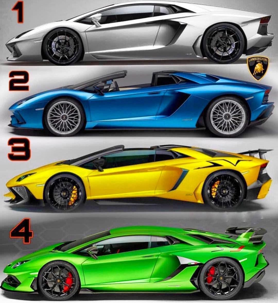 Which suits you best? 📷 kaos.cars