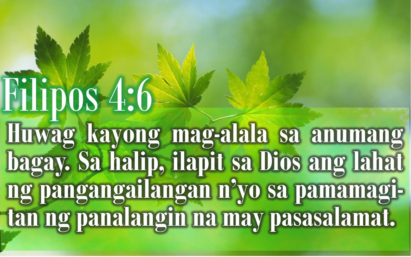 Pin On Tagalog Bible Verse