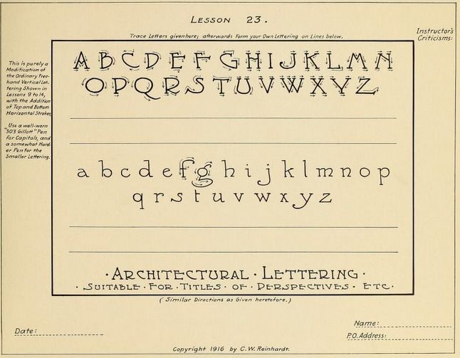 Practice Sheets For Learning How To Letter From The Public Domain