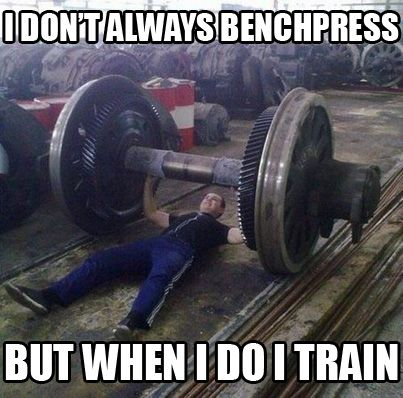 I Don T Always Benchpress But When I Do I Train Gym Memes Workout Humor Gym Humor
