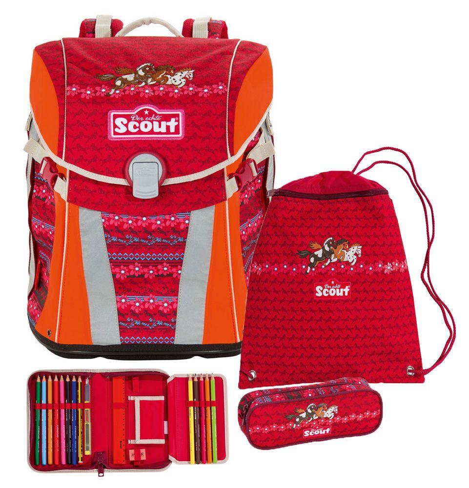 Scout Sunny Schulranzen Set 4tlg Fb Team Schoolbags School Bags Bags Und Backpacks