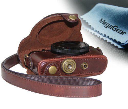 "MegaGear ""Ever Ready"" Protective Dark Brown Leather Camera Case , Bag for Sony DSC-RX100M II Cyber-shot Digital Still Camera RX100 II MegaGear,http://www.amazon.com/dp/B00E1TST90/ref=cm_sw_r_pi_dp_nFB0sb1M63XG45WS"
