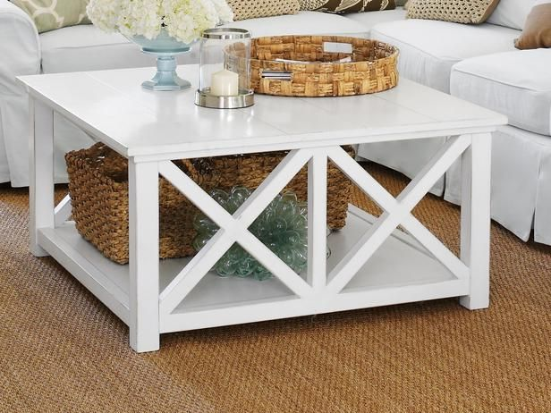 Best Cool Ways To Beach Up Your House Beachy Coffee Table 640 x 480