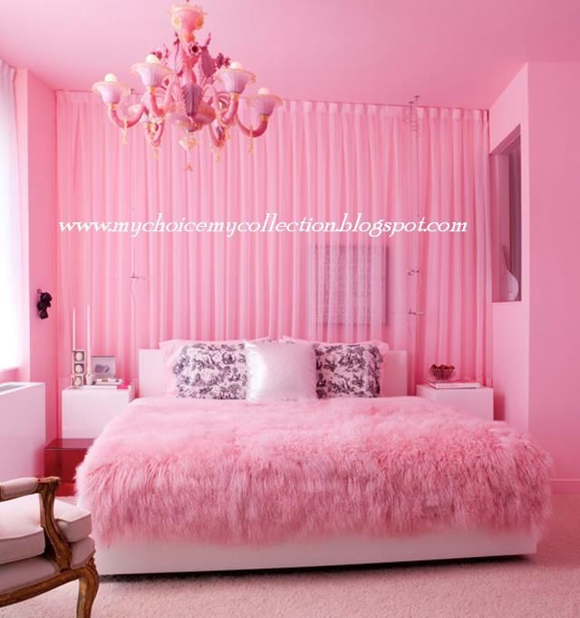 Beautiful Pink Bedrooms