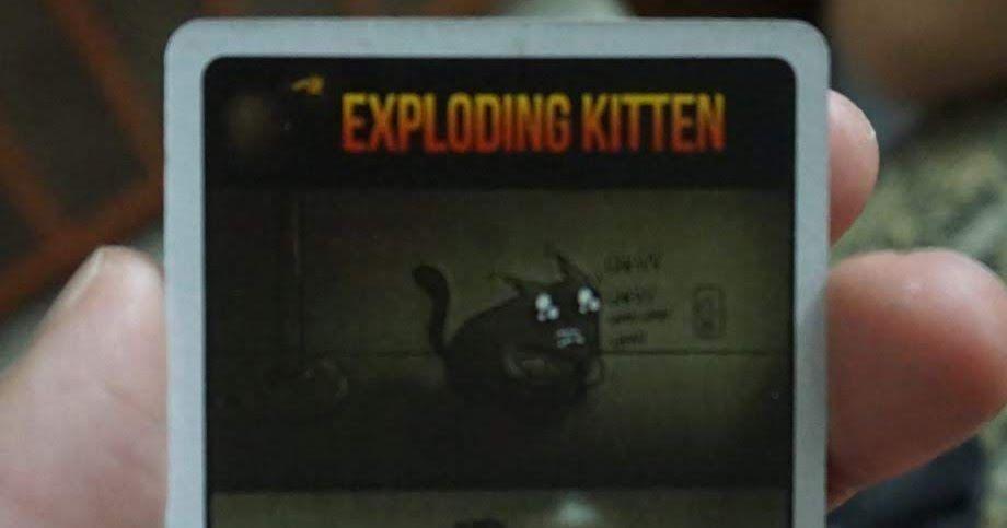 Exploding Kittens Review Exploding Kittens Kittens Tabletop Games