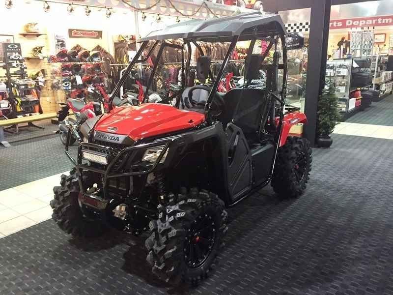 New 2017 Honda Pioneer 500 Red Atvs For Sale In Arkansas 2017 Honda Pioneer 500 Red Hr Mud Pro Series 2017 Ho Honda Pioneer 500 Atv Electric Scooter For Kids