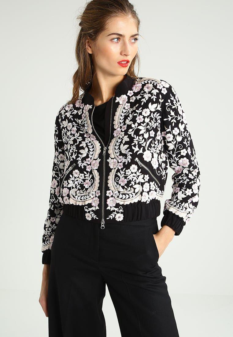 Stylizacje Dnia Z Inspiruj Net Jesienne Kwiaty Kobietamag Pl Bomber Jacket Jackets Athletic Jacket