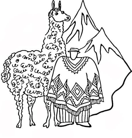 Huge Llama Coloring Page Free Printable Coloring Pages Coloring Pages Free Printable Coloring Pages Printable Coloring Pages