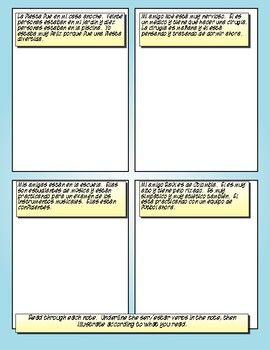 Advanced ser vs estar cartoon activities also best spanish lesson activity ideas images rh pinterest