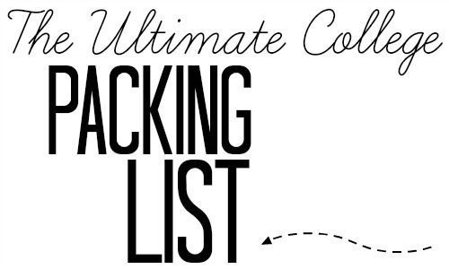 The Ultimate College Dorm Packing List! (also a link to a great college apartment packing list!) This list is so thorough! #collegepackinglist The Ultimate College Dorm Packing List! (also a link to a great college apartment packing list!) This list is so thorough! #ultimatepackinglist The Ultimate College Dorm Packing List! (also a link to a great college apartment packing list!) This list is so thorough! #collegepackinglist The Ultimate College Dorm Packing List! (also a link to a great colleg #collegepackinglist