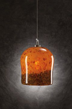 PLC Lighting 365 Fuzio Satin Nickel Confetti Amber Glass Mini Pendant On Sale Now. Guaranteed Low Prices. Call Today (877)-237-9098.