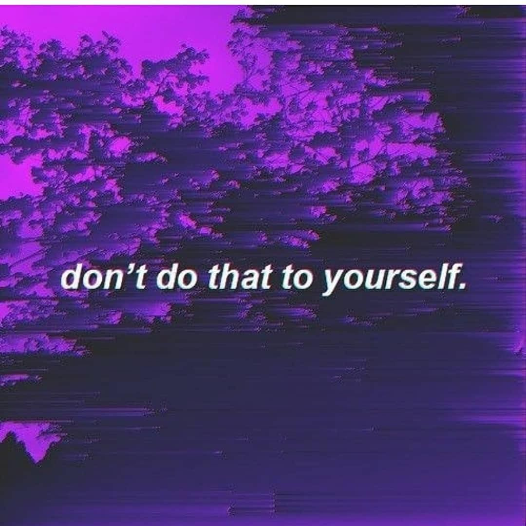 Dark Purple Aesthetic Quotes